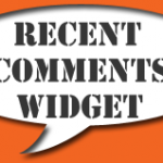 recent comments widget