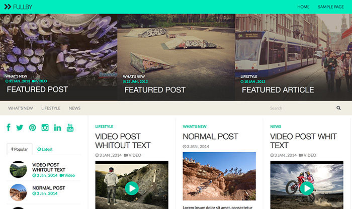 fullby-Theme-Wordpress-cho video