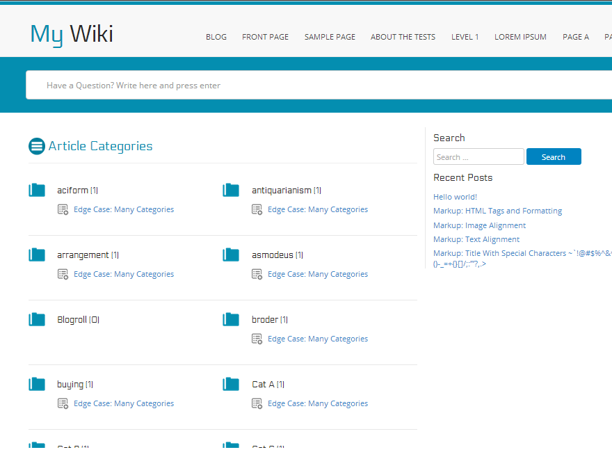 myWiki theme wordpress dep