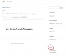 cai dat wordpress bang scripts - thanh cong