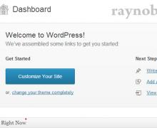 WordPress cơ bản: làm quen với admin dashboard quản lý WordPress