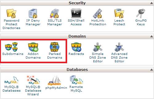 tro domain vao hosting