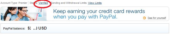 Liên kết tại khoản PayPal với thẻ Visa