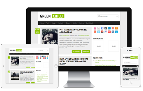 GreenChilli-WordPerss-Theme