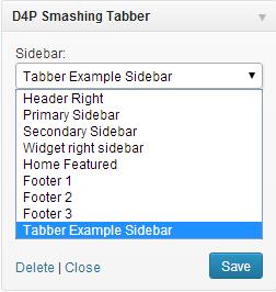 widget tabber