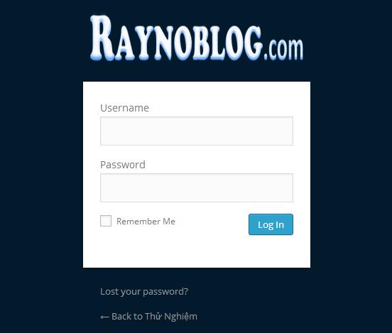 thay doi logo trang login