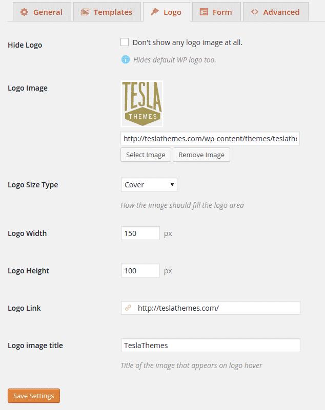 chỉnh sửa trang đăng nhập với plugin Tesla Login Customizer (3)