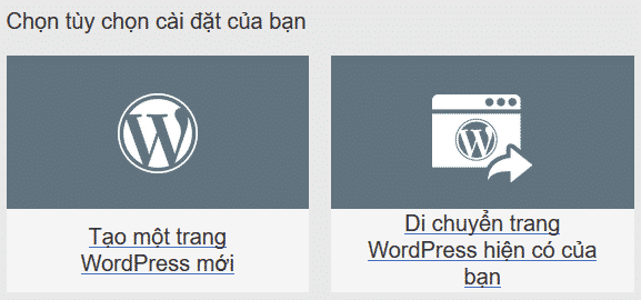 quan ly wordpress hosting godaddy 2 cài đặt wordpress