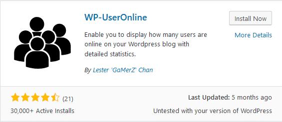 wp user online