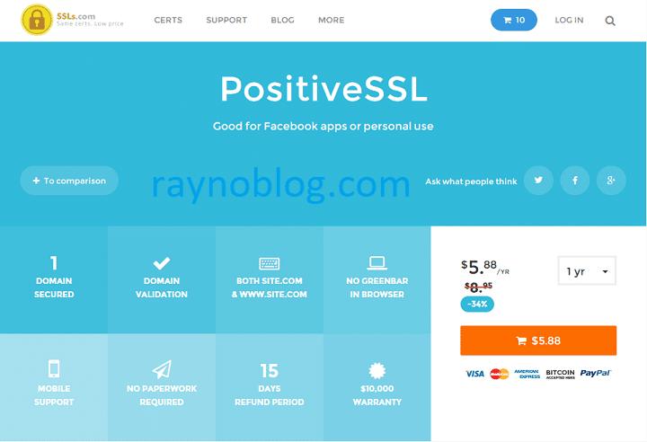 ssl giá rẻ tại SSLs.com