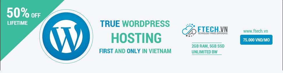 ftech-vn-giam-gia-wordpress-hosting-len-den-50-vinh-vien